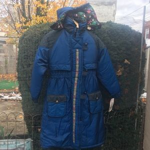 NWT Vintage 90's Womens Hipster Puffer Trench